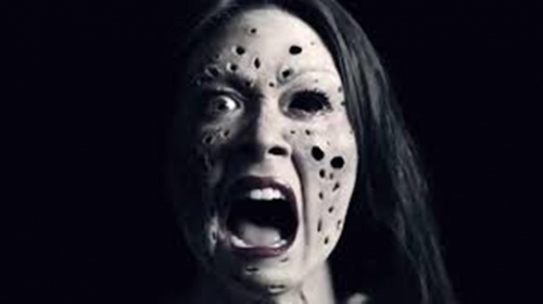 Trypophobia Causing Woman
